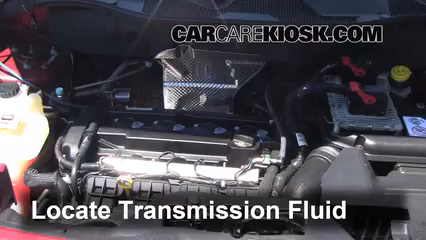 2012 Jeep Patriot Sport 2.0L 4 Cyl. Transmission Fluid Check Fluid Level